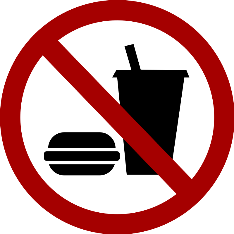 free vector No-food-drink