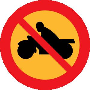 free vector No Motorbikes clip art