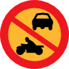 free vector No Motorbikes Or Cars clip art