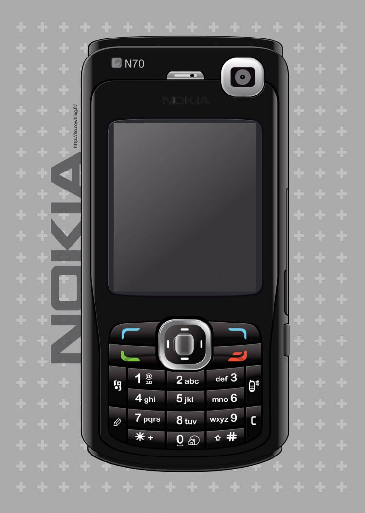 free vector Nokia Mobile Phone