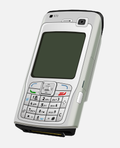 free vector Nokia N-series clip art