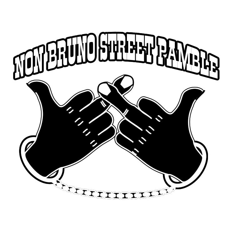 free vector Non bruno street pamble