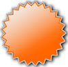 free vector Noonespillow Basic Starburst Badge clip art