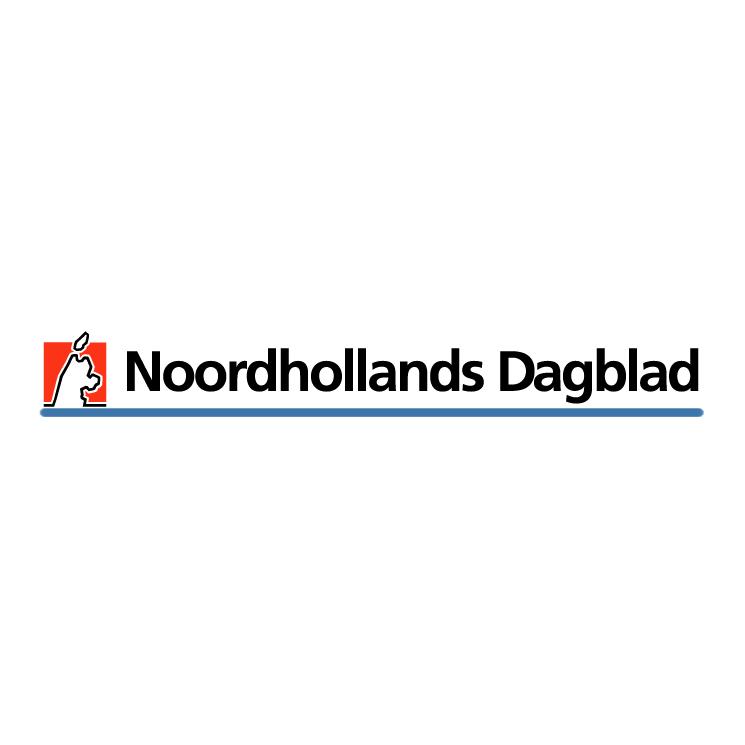 Noordhollands dagblad 0 Free Vector / 4Vector