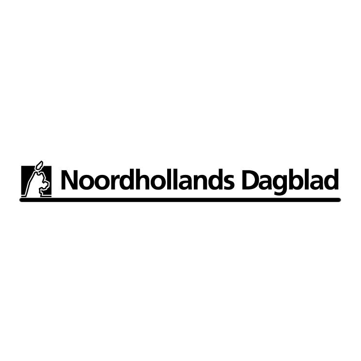 free vector Noordhollands dagblad