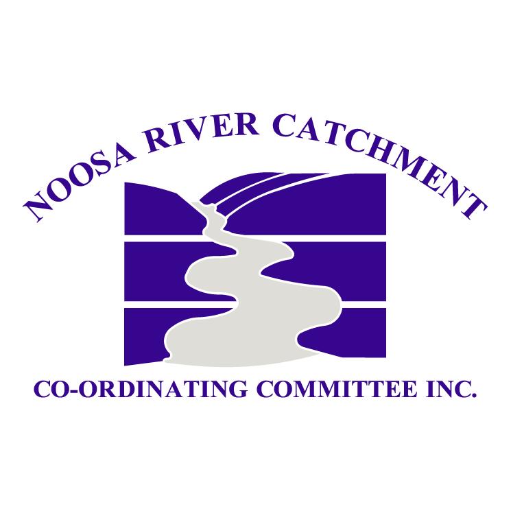 free vector Noosa river catchment