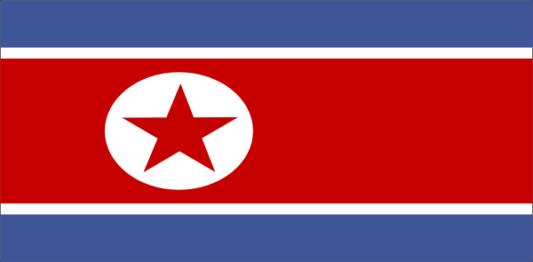 free vector North Korea clip art