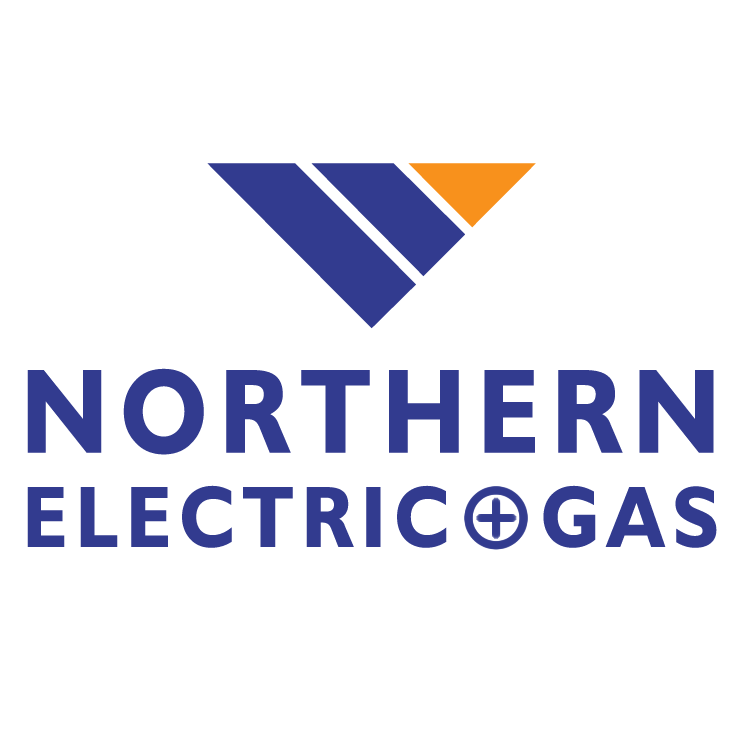 free vector Northern electric and gas