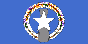 free vector Northern Mariana Flag clip art