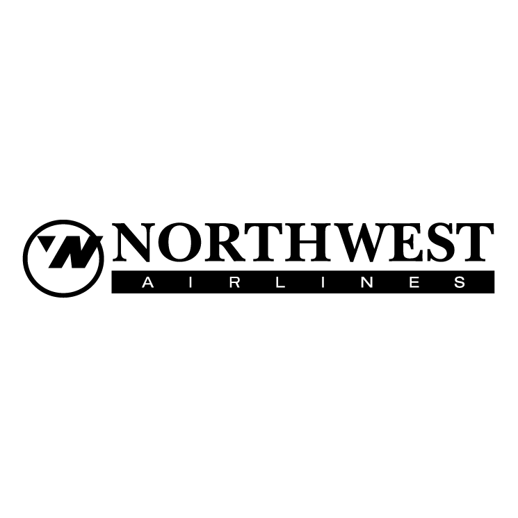 free vector Northwest airlines 1