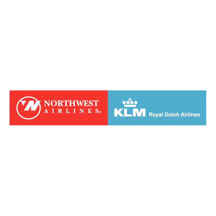 free vector Northwest airlines klm 1