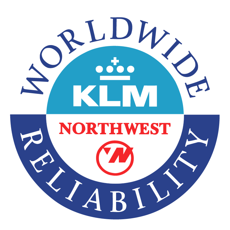 free vector Northwest airlines klm