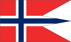 free vector Norwegian State Flag clip art