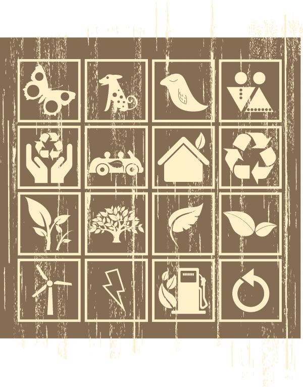 free vector Nostalgia environmental icon vector identification