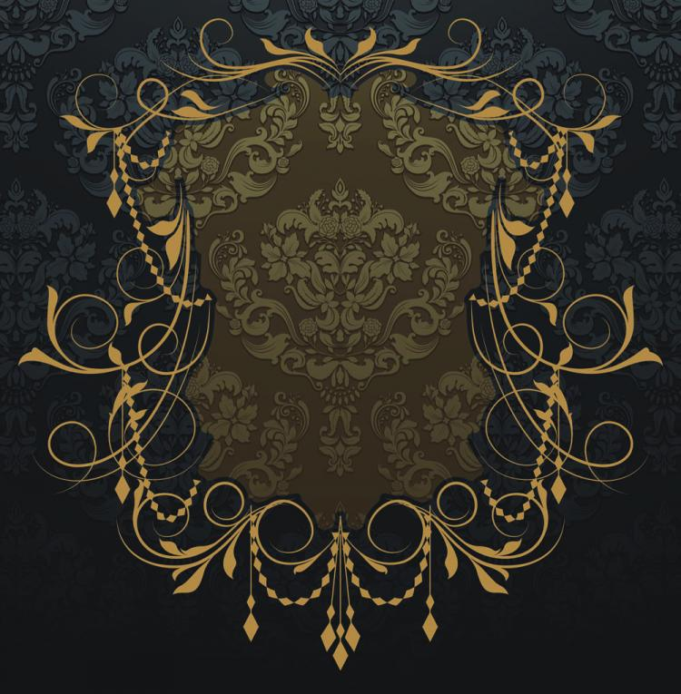 free vector Nostalgia shading lace 03 vector