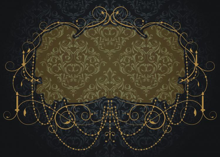 free vector Nostalgia shading lace 04 vector