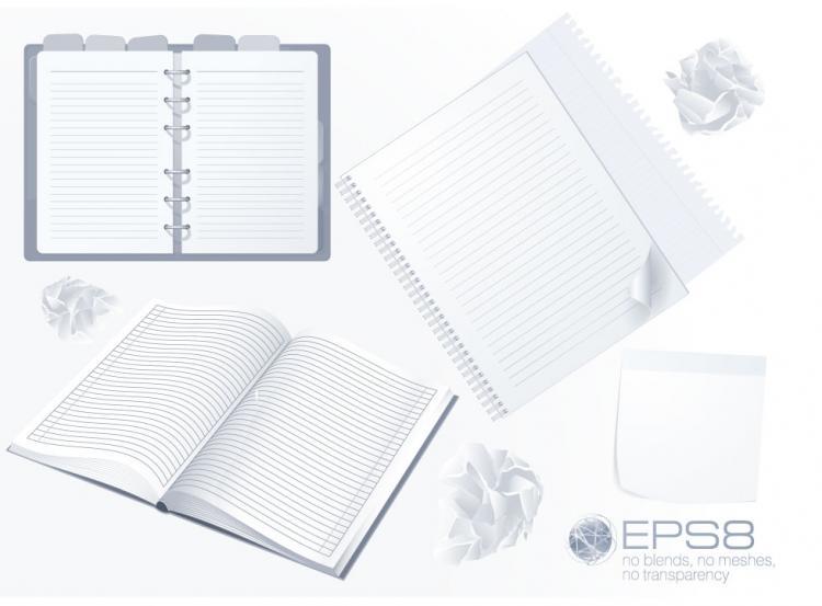 free vector Notepad 02 vector