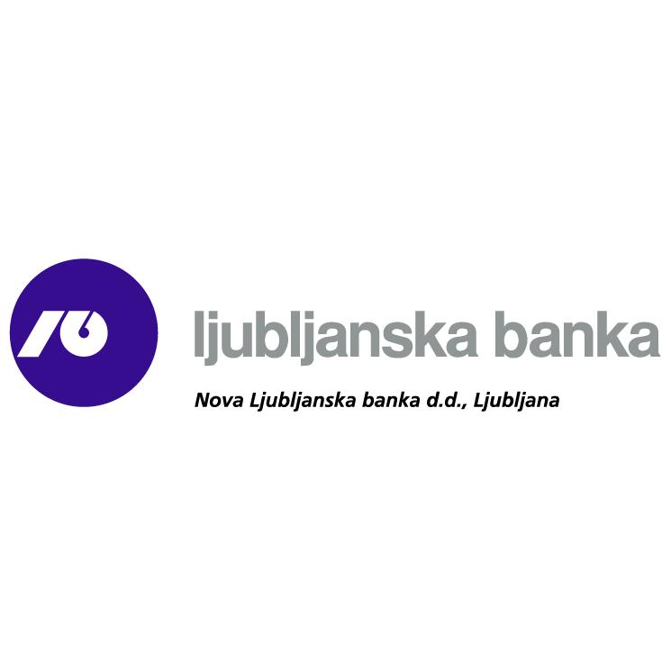 free vector Nova ljubljanska banka