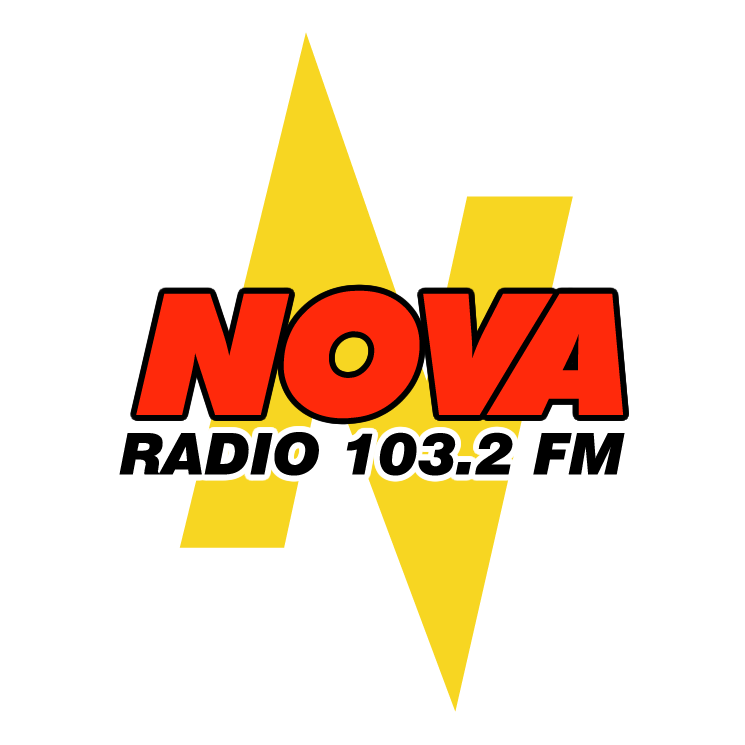 free vector Nova radio 1032 fm