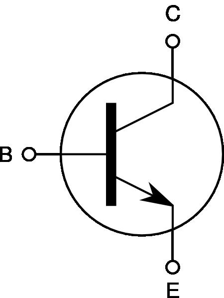 free vector Npn Transistor clip art