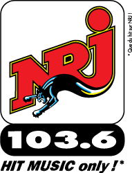 free vector NRJ radio logo