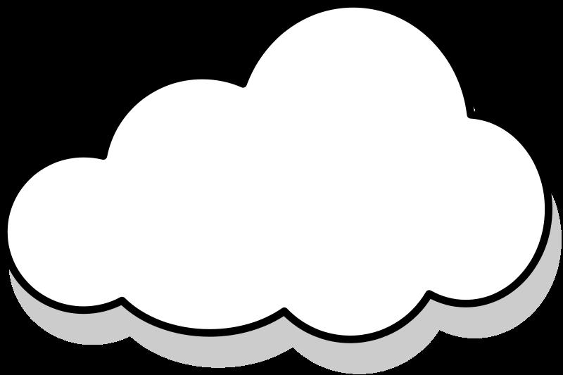 free vector Nuage / cloud