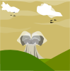 free vector Nuclear Explosion clip art