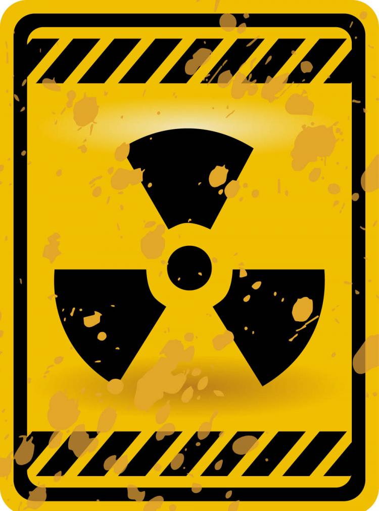 free vector Nuclear warning signs 03 vector