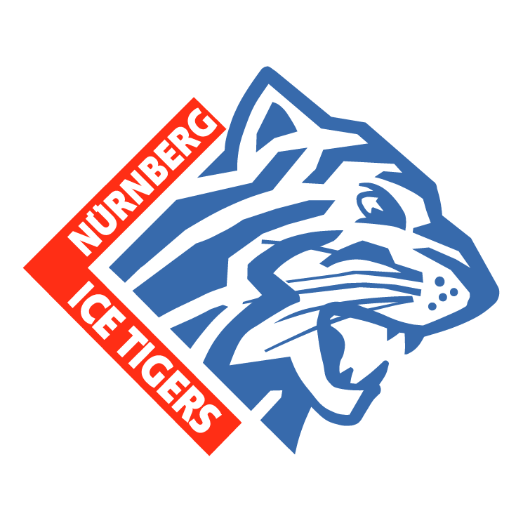 free vector Nuernberg ice tigers
