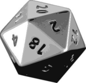 free vector Number Game Hypercube clip art