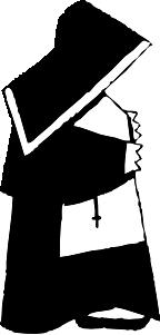 free vector Nun clip art