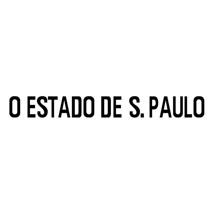 free vector O estado de s paulo