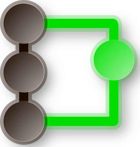 free vector O Qgit Icon clip art