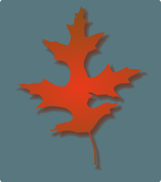 free vector Oak Leaf Autumn clip art
