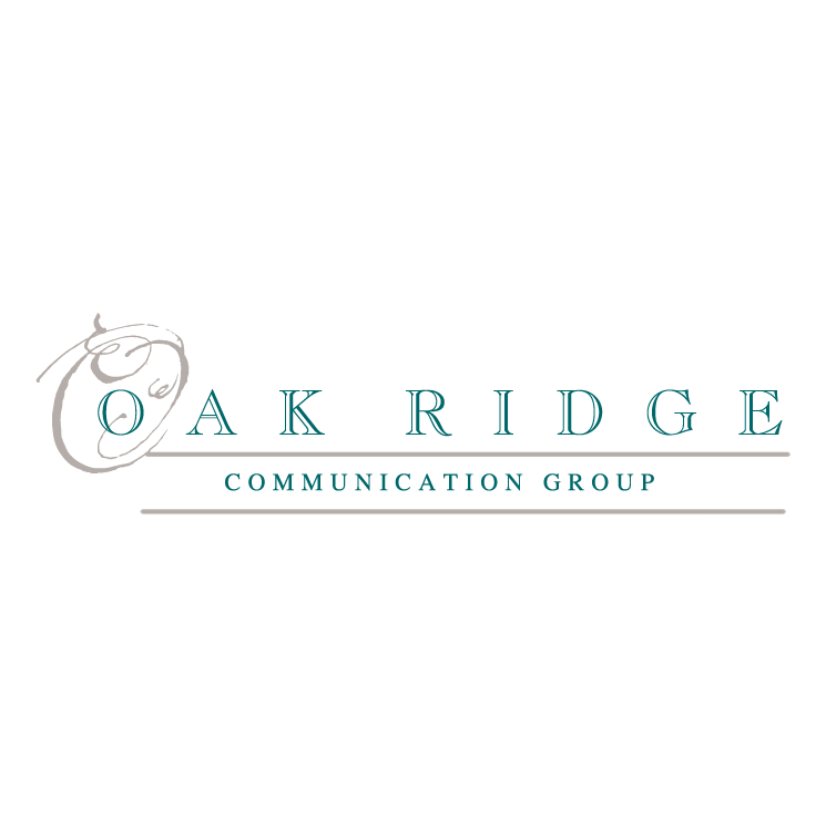 free vector Oak ridge communication group