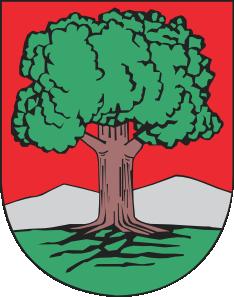 free vector Oak Tree Walbrzych Coat Of Arms clip art