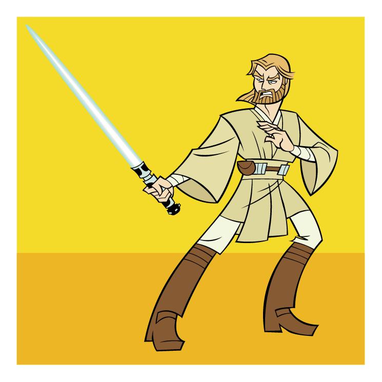 free vector Obi wan kenobi