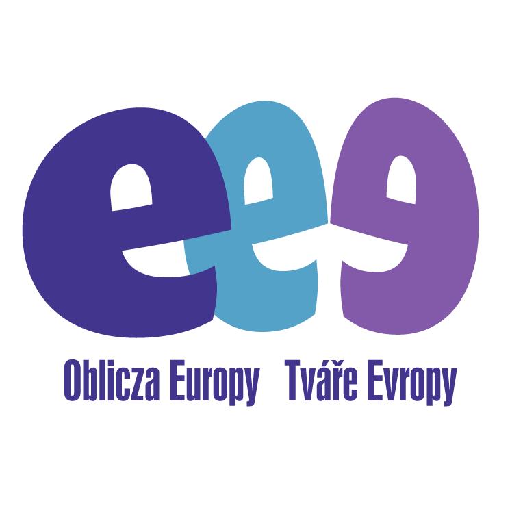 free vector Oblicza europy