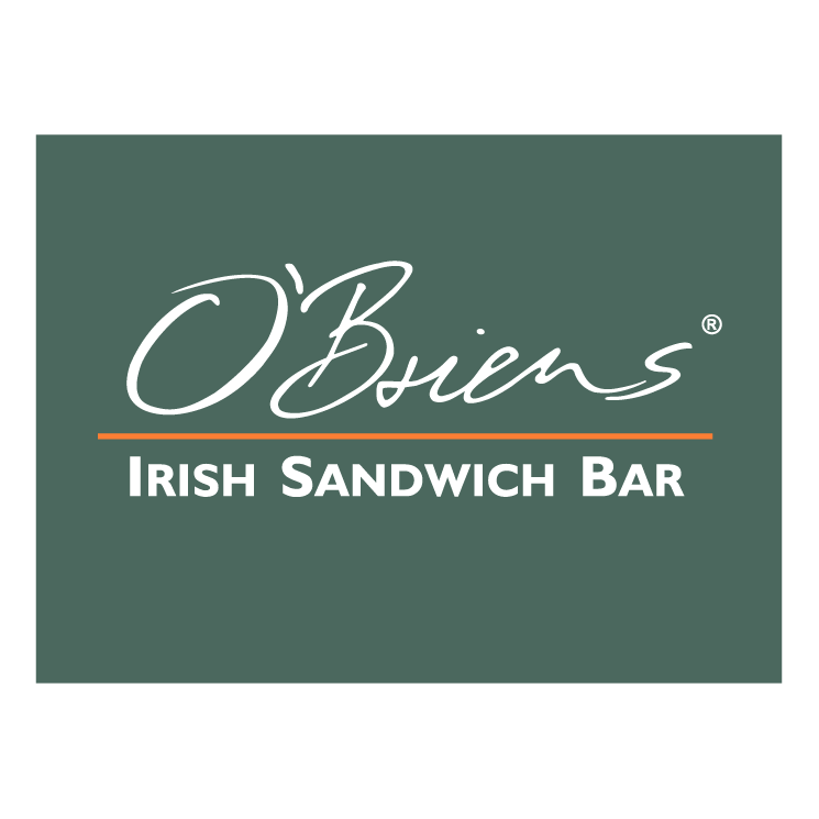 free vector Obriens irish sandwich bar 0
