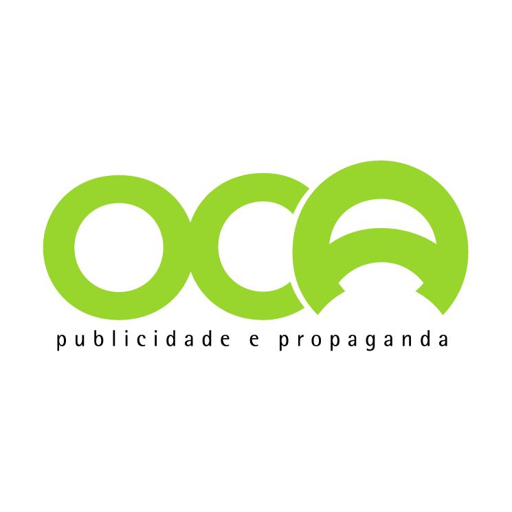free vector Oca publicidade e propaganda 0