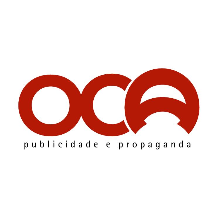 free vector Oca publicidade e propaganda