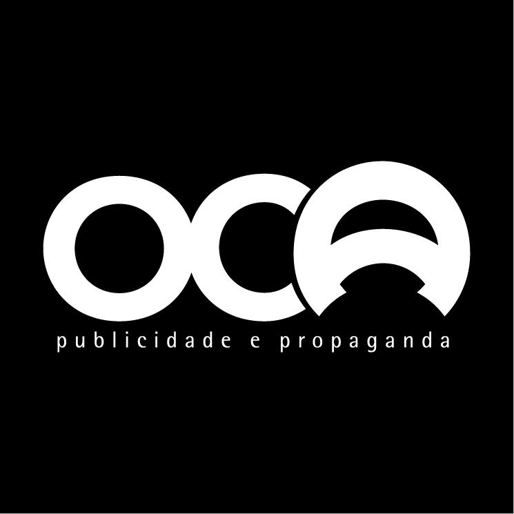 free vector Oca publicidade e propagnda