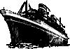 free vector Ocean Liner clip art