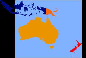 free vector Oceania Oceanica clip art