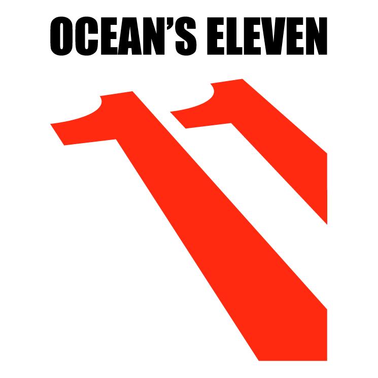 free vector Oceans eleven