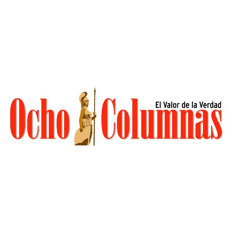 free vector Ocho columnas