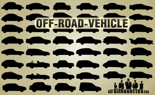free vector OFF-Road Cars
