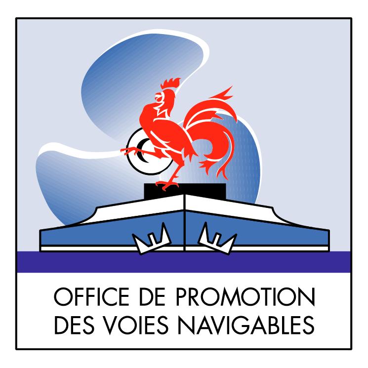 free vector Office de promotion des voies navigables