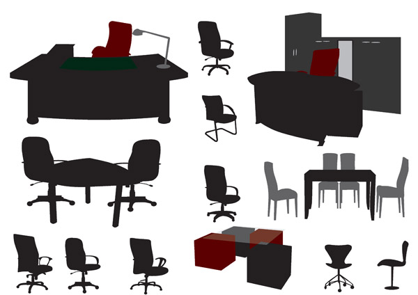 Amazing The Vector Stencils Library &quotOffice Furniture&quot Contains 36 Shapes Of Office Furnishings And Work Surfaces Use These Shapes For Drawing Floor Plans And Furniture Arrangements And Layouts Of Office Suites And Conference Rooms In The