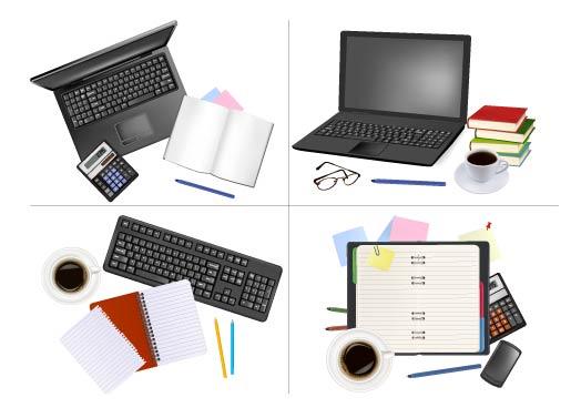 free vector Office supplies 01 vector
